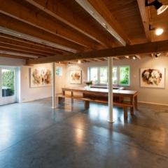 De expositieruimte